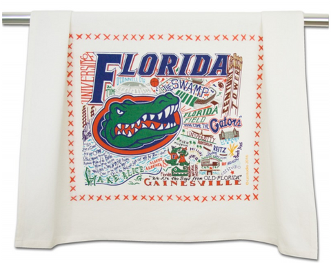 UNIVERSITY OF FLORIDA DISH TOWEL Catstudio - A. Dodson's