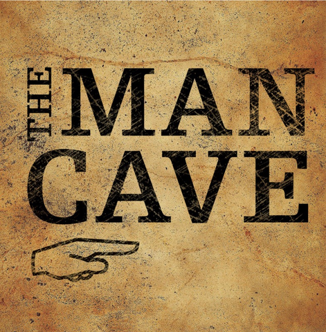 THE MAN CAVE PAPER COCKTAIL NAPKIN - 20 COUNT, Evergreen - A. Dodson's