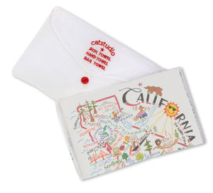 CALIFORNIA DISH TOWEL BY CATSTUDIO Catstudio - A. Dodson's