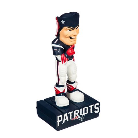 NEW ENGLAND PATRIOTS MASCOT STATUE, Evergreen - A. Dodson's