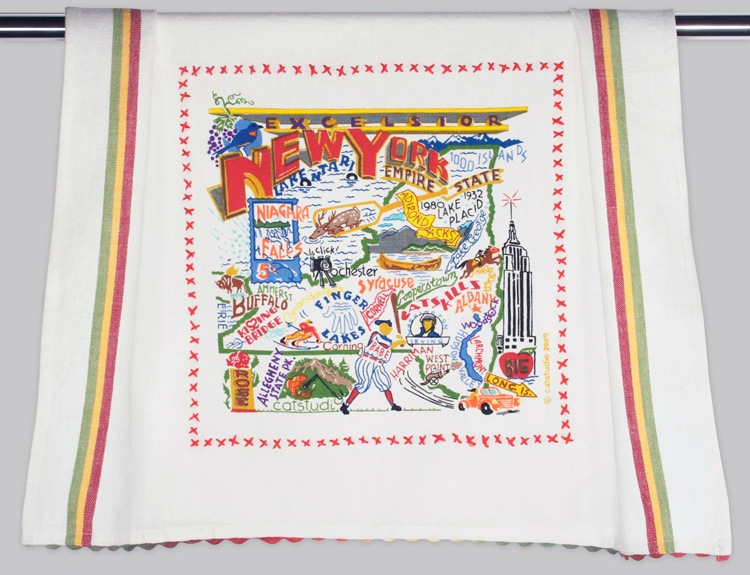 NEW YORK STATE DISH TOWEL BY CATSTUDIO, Catstudio - A. Dodson's