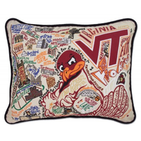 VIRGINIA TECH PILLOW BY CATSTUDIO, Catstudio - A. Dodson's