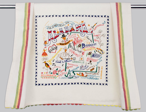 ALABAMA DISH TOWEL BY CATSTUDIO, Catstudio - A. Dodson's