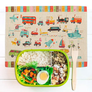 TRANSPORTATION A TO FABRIC PLACEMAT
