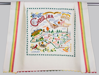 NORTH CAROLINA DISH TOWEL BY CATSTUDIO Catstudio - A. Dodson's