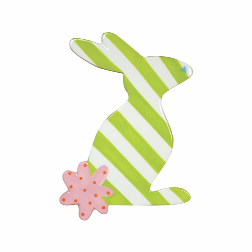 HAPPY EVERYTHING STRIPED RABBIT MINI ATTACHMENT {product_vendor} - A. Dodson's