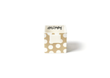 HAPPY EVERYTHING NEUTRAL DOT MINI NESTING CUBE SMALL, Happy Everything - A. Dodson's