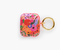 CLEAR GARDEN PARTY BLUSH AIR PODS CASE