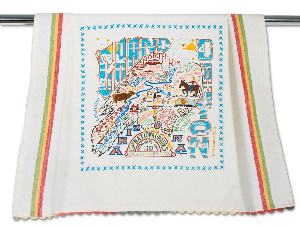 GRAND CANYON DISH TOWEL BY CATSTUDIO, Catstudio - A. Dodson's