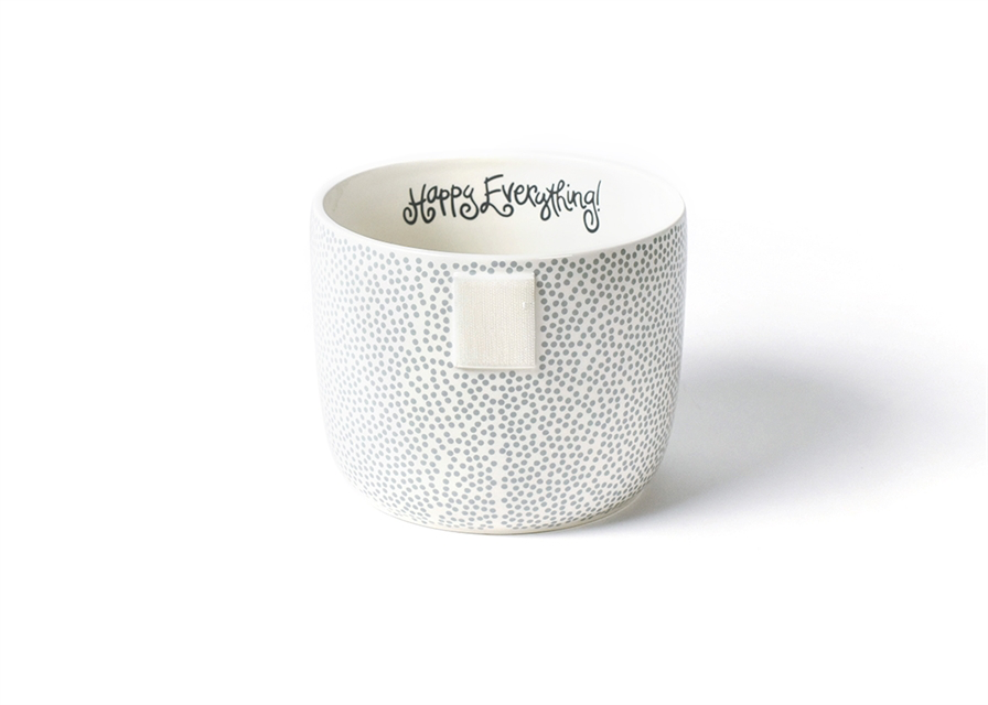 HAPPY EVERYTHING STONE SMALL DOT  MINI BOWL, Happy Everything - A. Dodson's