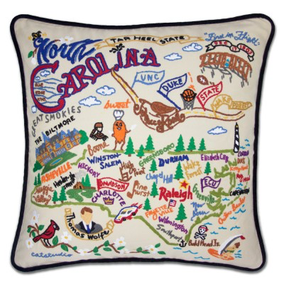 North Carolina Pillow By Catstudio Free Shipping A Dodson S