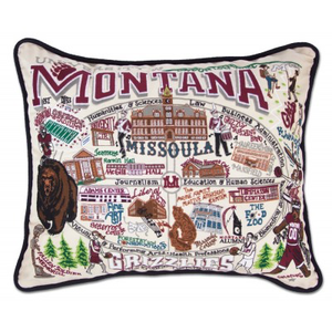 UNIVERSITY OF MONTANA PILLOW BY CATSTUDIO, Catstudio - A. Dodson's