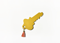 HAPPY EVERYTHING GOLD KEY BIG ATTACHMENT Happy Everything - A. Dodson's