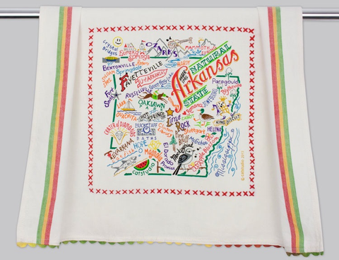 ARKANSAS DISH TOWEL BY CATSTUDIO Catstudio Home Spring - A. Dodson's