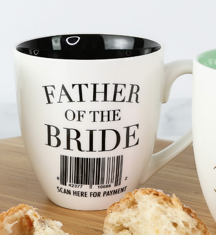 CERAMIC MUG FATHER OF THE BRIDE