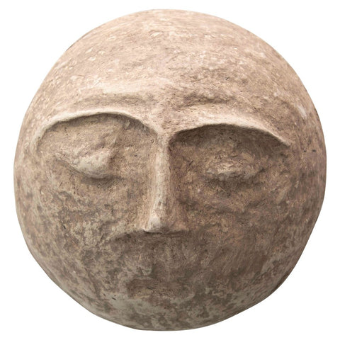 PAPER MACHE MEDIUM FACE MASK DECOR