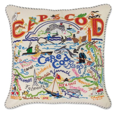 CAPE COD PILLOW BY CATSTUDIO