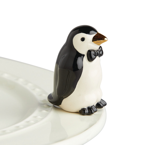 BRAND NEW! NORA FLEMING TINY TUXEDO PENGUIN MINI A237, Nora Fleming - A. Dodson's