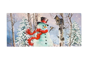 BIRCH FOREST SNOWMAN SASSAFRAS SWITCH MAT