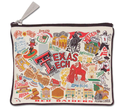 TEXAS TECH UNIVERSITY POUCH, Catstudio - A. Dodson's
