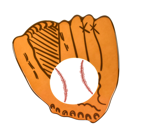 HAPPY EVERYTHING BASEBALL GLOVE BIG ATTACHMENT {product_vendor} - A. Dodson's