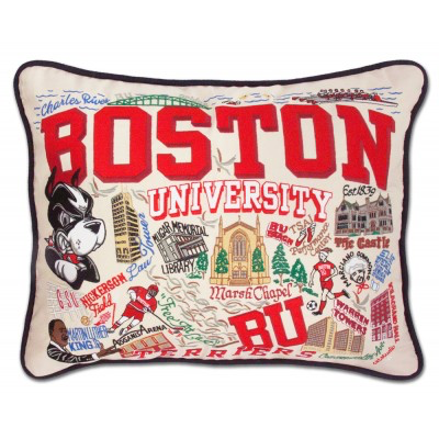 BOSTON UNIVERSITY PILLOW BY CATSTUDIO, Catstudio - A. Dodson's