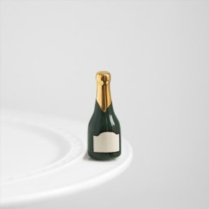 Nora Fleming Champagne Bottle Mini A Dodson's A94 Champagne Celebration