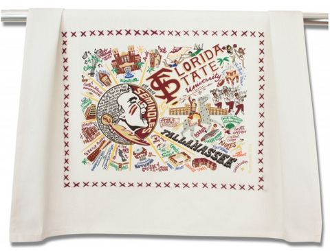 FLORIDA STATE UNIVERSITY DISH TOWEL Catstudio - A. Dodson's