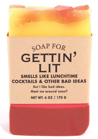 GETTING LIT SOAP, Whiskey River - A. Dodson's