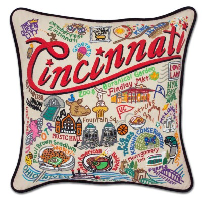 CINCINNATI PILLOW Catstudio - A. Dodson's