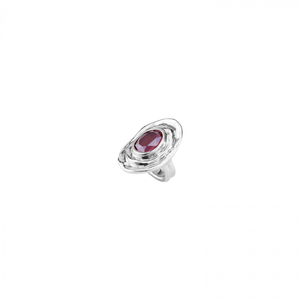 TEOTL DARK RED CRYSTAL RING - LARGE, Uno de 50 - A. Dodson's