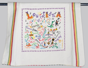 LOUISIANA DISH TOWEL BY CATSTUDIO Catstudio - A. Dodson's