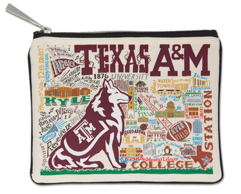 TEXAS A&M UNIVERSITY POUCH, Catstudio - A. Dodson's