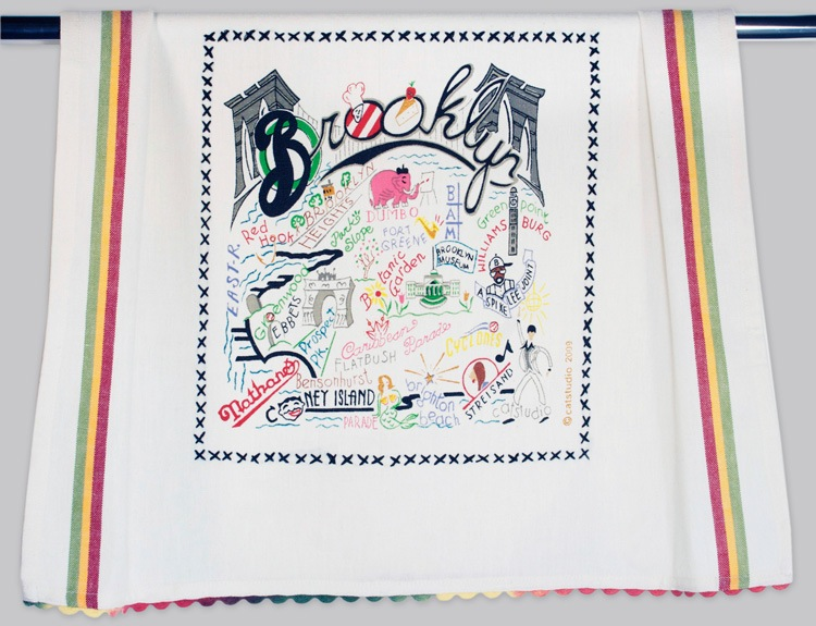 BROOKLYN DISH TOWEL BY CATSTUDIO, Catstudio - A. Dodson's