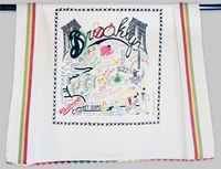 BROOKLYN DISH TOWEL BY CATSTUDIO Catstudio - A. Dodson's