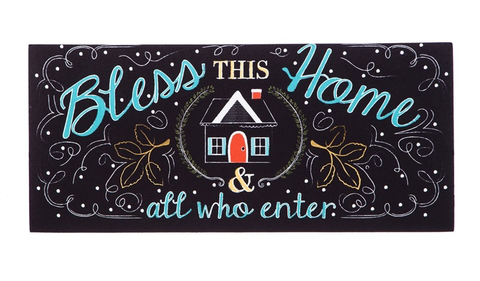 BLESS THIS HOME SASSAFRAS SWITCH MAT