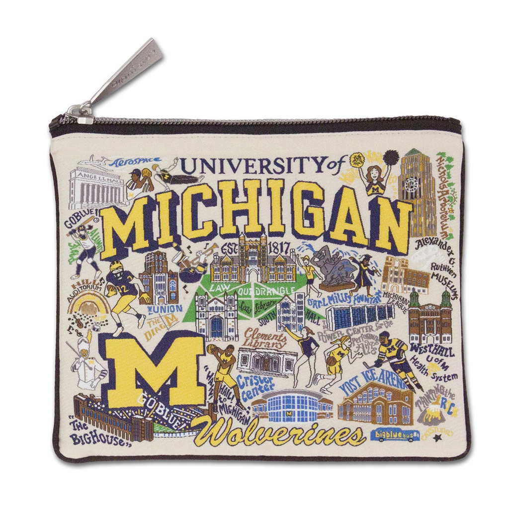 UNIVERSITY OF MICHIGAN POUCH, Catstudio - A. Dodson's