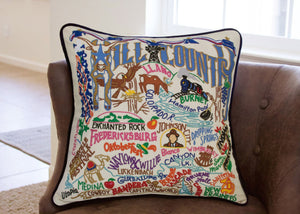 HILL COUNTRY PILLOW BY CATSTUDIO