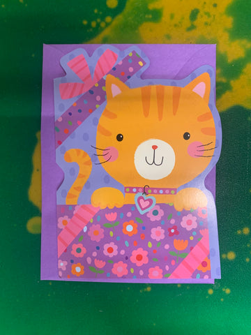 KITTY IN BIRTHDAY BOX by Peaceable Kingdom