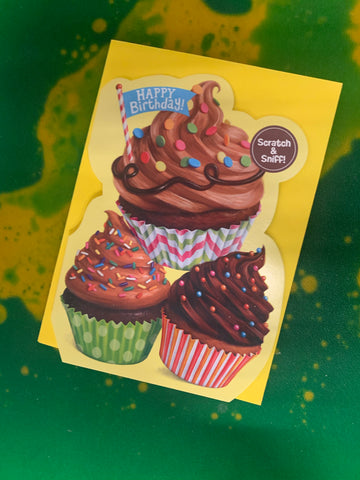 CHOCOLATE CUPCAKE SCRATCH AND SNIFF by Peaceable Kingdom