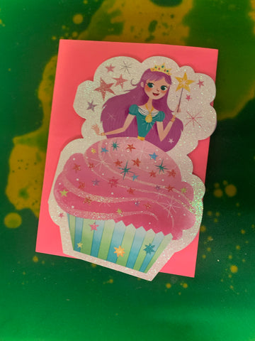 PRINCESS CUPCAKE GLITTER by Peaceable Kingdom