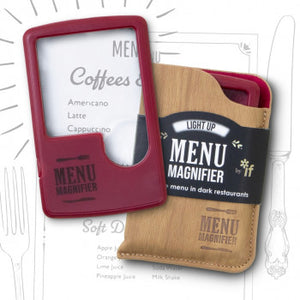 LIGHT UP MENU MAGNIFIER