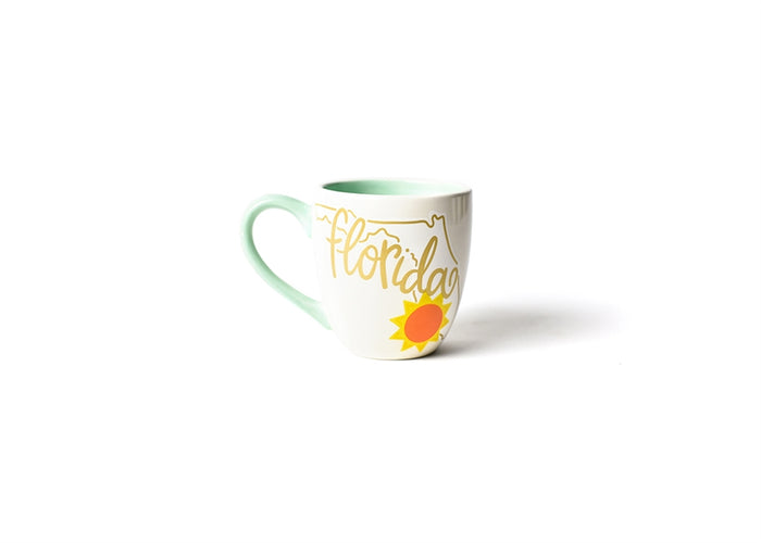 HAPPY EVERYTHING FLORIDA MOTIF MUG