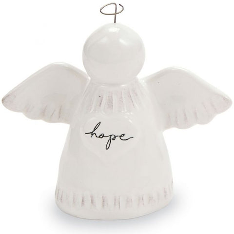 TERRACOTTA POCKET ANGEL - HOPE
