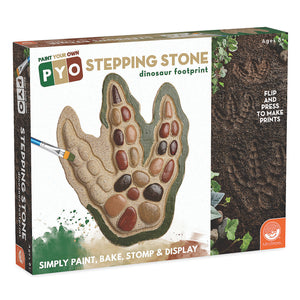 PAINT YOUR OWN STEPPING STONE - DINOSAUR FOOTPRINT