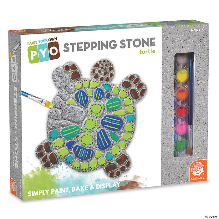 PAINT YOUR OWN STEPPING STONE - TURTLE