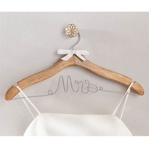 MRS WEDDING DRESS HANGER