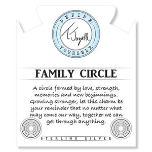 T JAZELLE ROSE QUARTZ-FAMILY CIRCLE