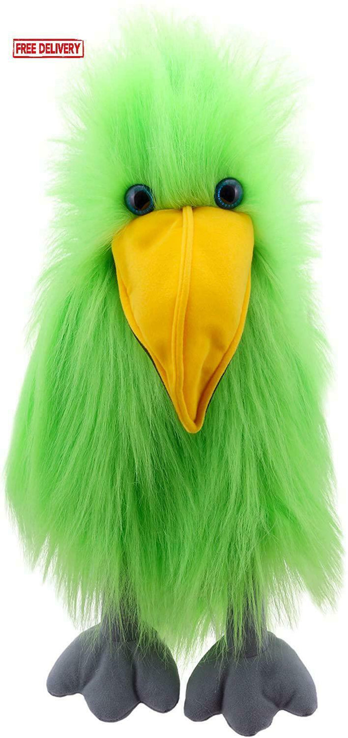 BASIC BIRD PUPPET - GREEN