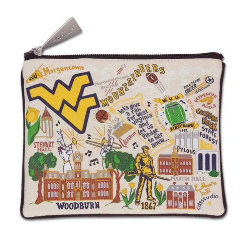 West Virginia University Pouch by Catstudio